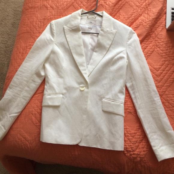 b71cc28a7a2e H M Jackets   Blazers - White H M Women s Blazer