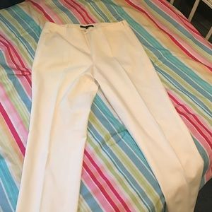 White theory ankle dress pants