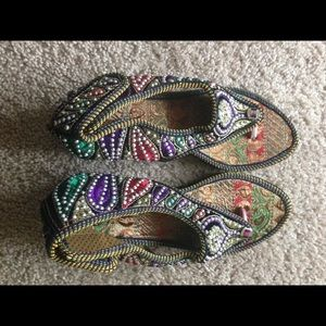 handmade Shoes - Colorful handwork sandals great for fall or summer
