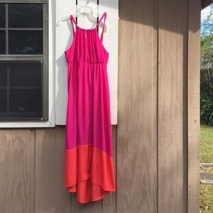 Old Navy Dresses & Skirts - Old Navy High-Low hem maxi dress