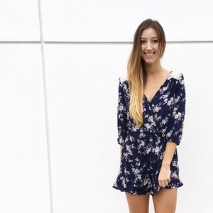 Dresses & Skirts - | new | floral and lace romper