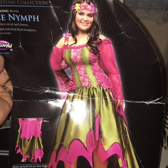 Gorgeous renaissance Nymph costume 18-24 new NWT