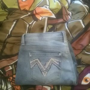 Denim - Seven7 girlfriend jeans