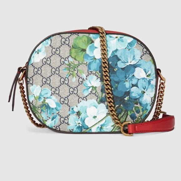 8a627d47cd96 Gucci Bags | Gg Blooms Mini Chain Bag | Poshmark