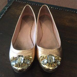 shoedazzle Shoes - Jeweled flats