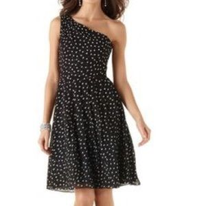 White House Black Market Polka Dot Dress NWT