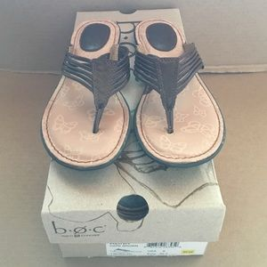 b.o.c. Shoes - B.O.C Alina Dark Brown Sandals