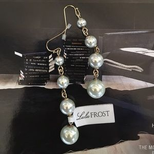 Lulu Frost Jewelry - Lulu Frost Glass Pearl Drop  Earrings