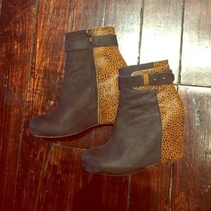 80%20 for Piperlime booties. Size 6.5. Leather