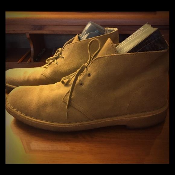 4fffcaee Men's Clarks Originals Desert Boots Tan size 11