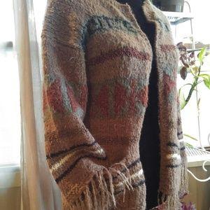 Vintage Sweaters - Vintage mohair/silk blend cardigan