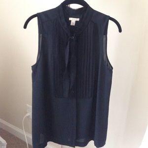 JCrew silk sleeveless blouse
