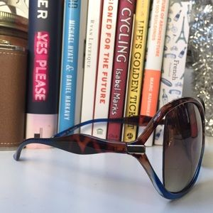 Accessories - Blue & Tortoise Sunglasses