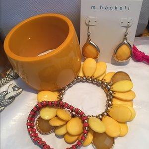 Miriam Haskell Jewelry - Miriam Haskell and Banana Republic Jewelry Bundle