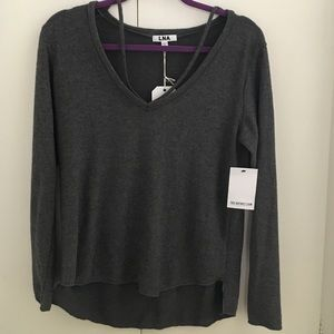 LNA Tops - NWT LNA Kellan Asymmetrical Top