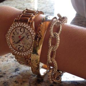 J. Crew Jewelry - J. Crew Pave Bracelet