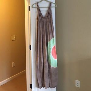 Taupe Gypsy 05 maxi dress