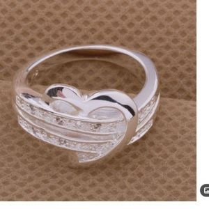 Jewelry - New 925 ❤️ring size 8-(2 Available)
