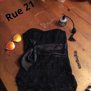 Rue21 Tops - Rue 22 lace strapless top💋