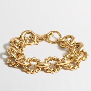 J. Crew Jewelry - J. Crew Gold Stacking Bracelet