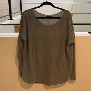 Vince - cashmere/wool blend sweater.