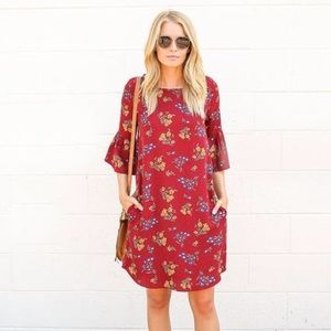 vici collection Dresses & Skirts - Red floral dress