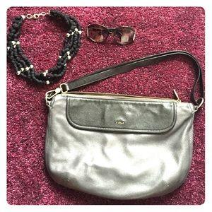 Furla Handbags - Authentic Furla Leather Bag