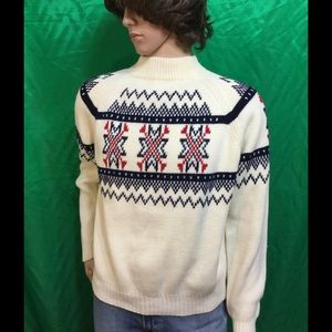 vintage SEARS pullover sweater .