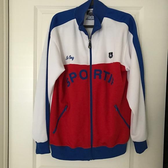 3026ce15aed Le Coq Sportif Jackets & Coats | Mens Full Zip Track Jacket | Poshmark
