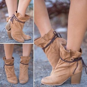 ❣️3 COLORS❣️ Wrap Around Slouchy Bootie