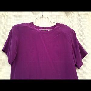 Vintage OSCAR de la RENTA Silk Blouse Large