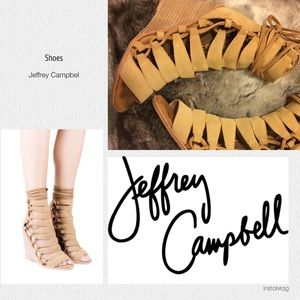 Jeffrey Campbell Shoes - Jeffrey Campbell's Zafria lace up sandals