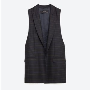 Zara Jackets & Blazers - ‼️SALE‼️🆕Zara Long Waistcoat
