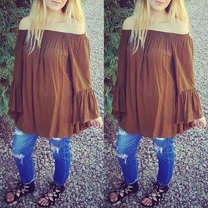 Indah Dresses & Skirts - {Indah} Bell Sleeve Dress