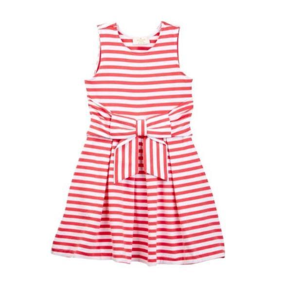 7f35a0707 Kate Spade Kids Dresses   Kate Spade New York Jillian Strip Bow ...