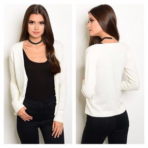 Sweaters - NWT Ivory Cardigan