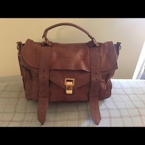 Proenza Shouler PS1 Medium Brown