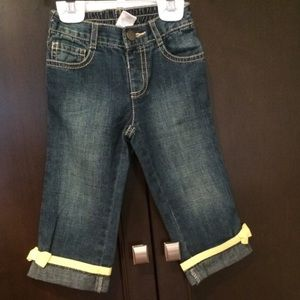 Gymboree Other - Bow ribbon jeans