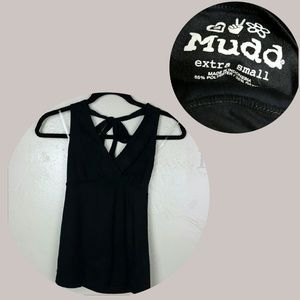 🌺 Embroiderd Black Top by MUDD Size XS