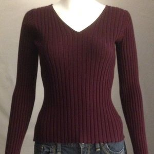 NWT Burgundy Sweater