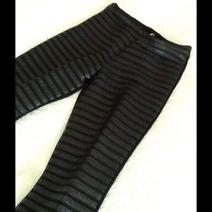 Pants - Size S faux leather washable pants.
