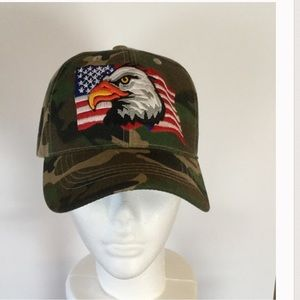 🎉HP🎉 Last One 🇺🇸 Patriotic Camo Baseball Cap