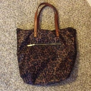Old Navy Leopard Print Bag
