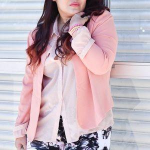 Forever 21 Jackets & Blazers - Blush Pink Blazer