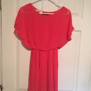 Coral Dress size S. NWT