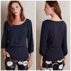 Anthropologie Tops - NWT Anthropologie Deletta Ruffle Blouse