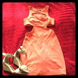 * NWOT Bebe Cut Out Dress