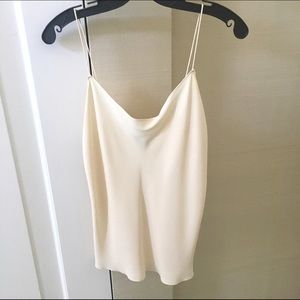 Tops - Donna Karan sleeveless silk tank