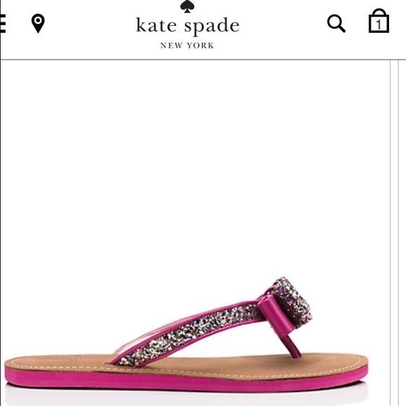 62f7882a7 NIB Kate spade icarda flip flops