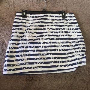 Lilly Pulitzer nautical skirt